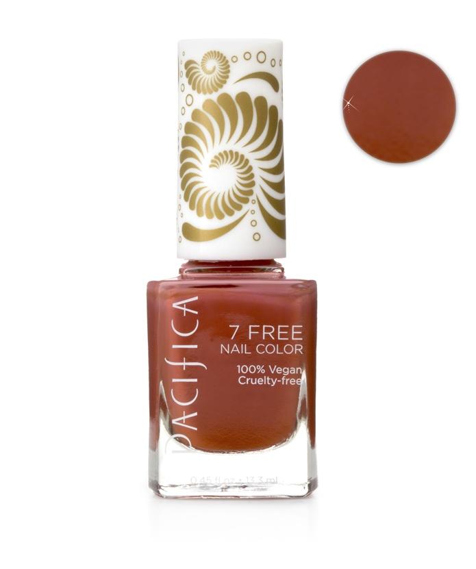 Three Free Nail Polish Brands List: Pacifica 7 Free Desert Princess Nail Polish 13.3ml