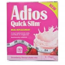 Adios Quick Slim 4 x 35g