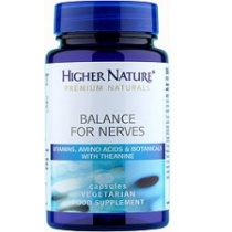 Higher Nature Balance for Nerves 180caps
