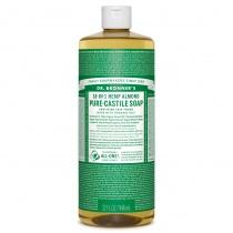 Dr.Bronner's Castille Almond Organic Liquid Soap 1 litre