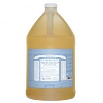 Dr.Bronner's Castille Unscented Baby Mild Organic Liquid Soap 3.78 litres