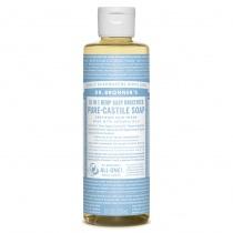 Dr.Bronner's Castille Unscented Baby Mild Liquid Soap 236ml