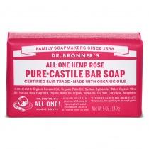 Dr.Bronner's Castille Rose Organic Soap Bar 140g
