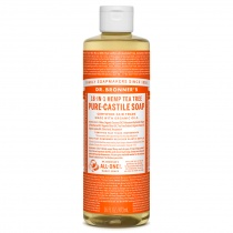 Dr.Bronner's Castille Tea Tree Organic Liquid Soap 472ml