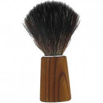Forsters Wooden Shaving Brush in pine and synthetic vegan bristles
