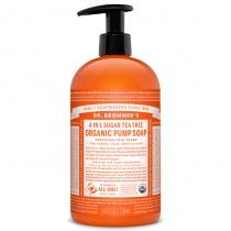Dr.Bronner's Organic Shikakai Tea Tree Hand Soap 709ml