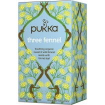 Pukka Three Fennel Tea x 20 bags