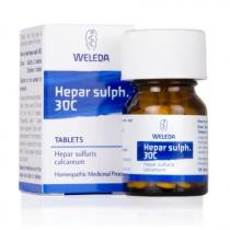 Weleda Hepar Sulph 30 Tablets 125 tab
