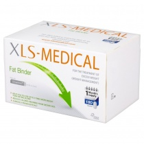 XLS - Medical Fat Binder 30 day pack - 180 tablets
